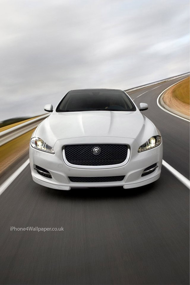 Jaguar XJ Sport iPhone Wallpaper